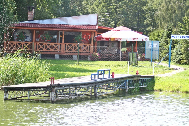 pomost Kornik Jezioro